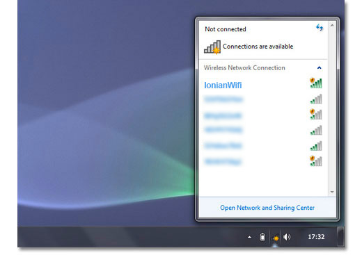 how to connect to wifi using laptop windows 7